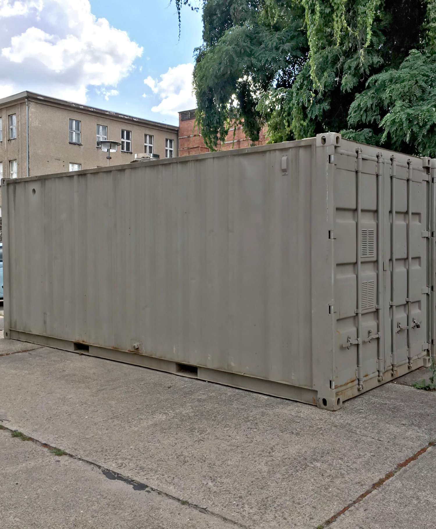 Heizcontainer Typ